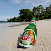 South Pacific Export Beer