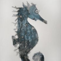 Seahorse Painting