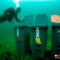 Underwater Recycling