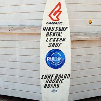Surfboard Sign